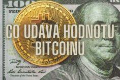 Co udává hodnotu bitcoinu