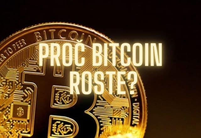 Proč bitcoin roste?
